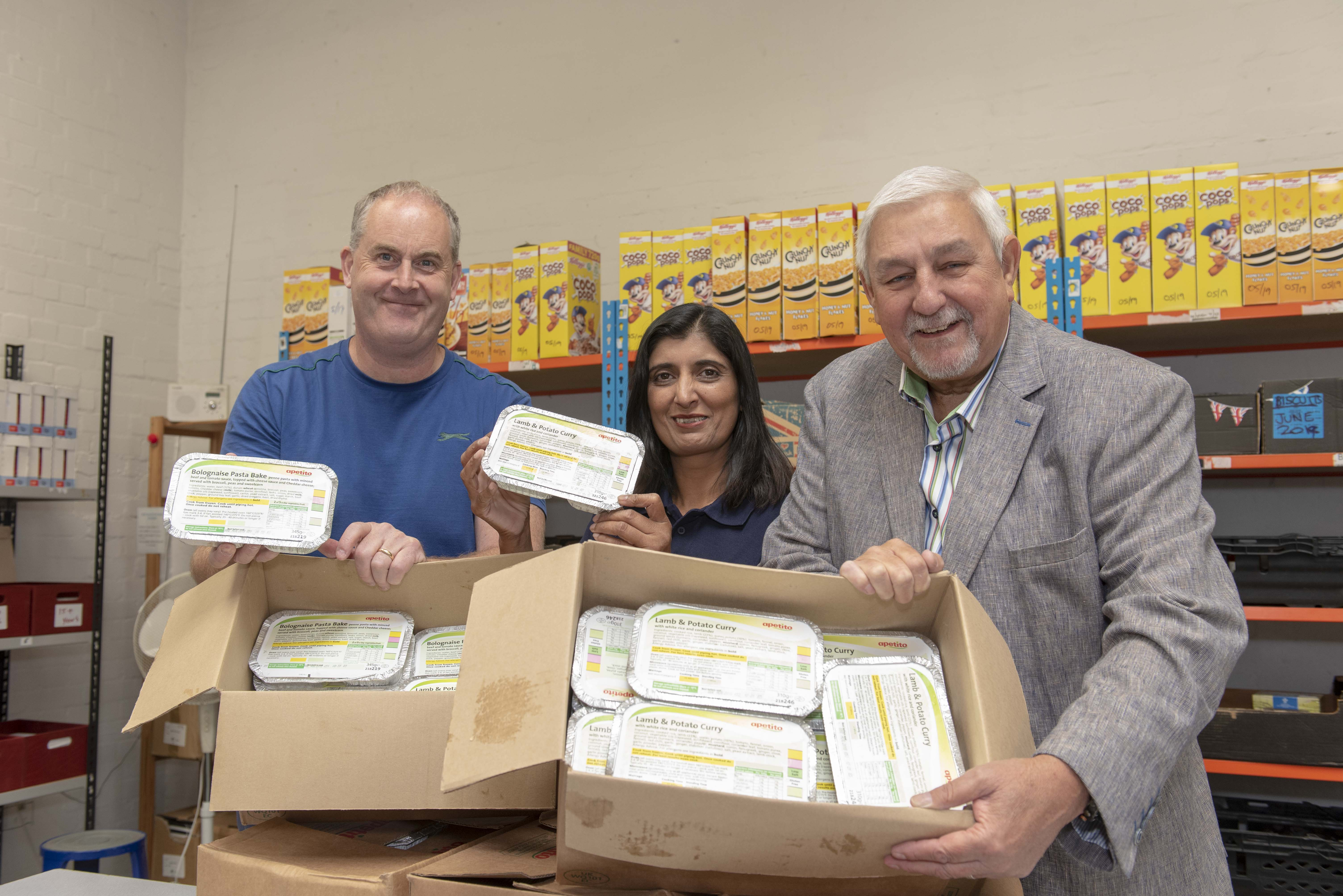 Council Donates Meals to City Foodbank