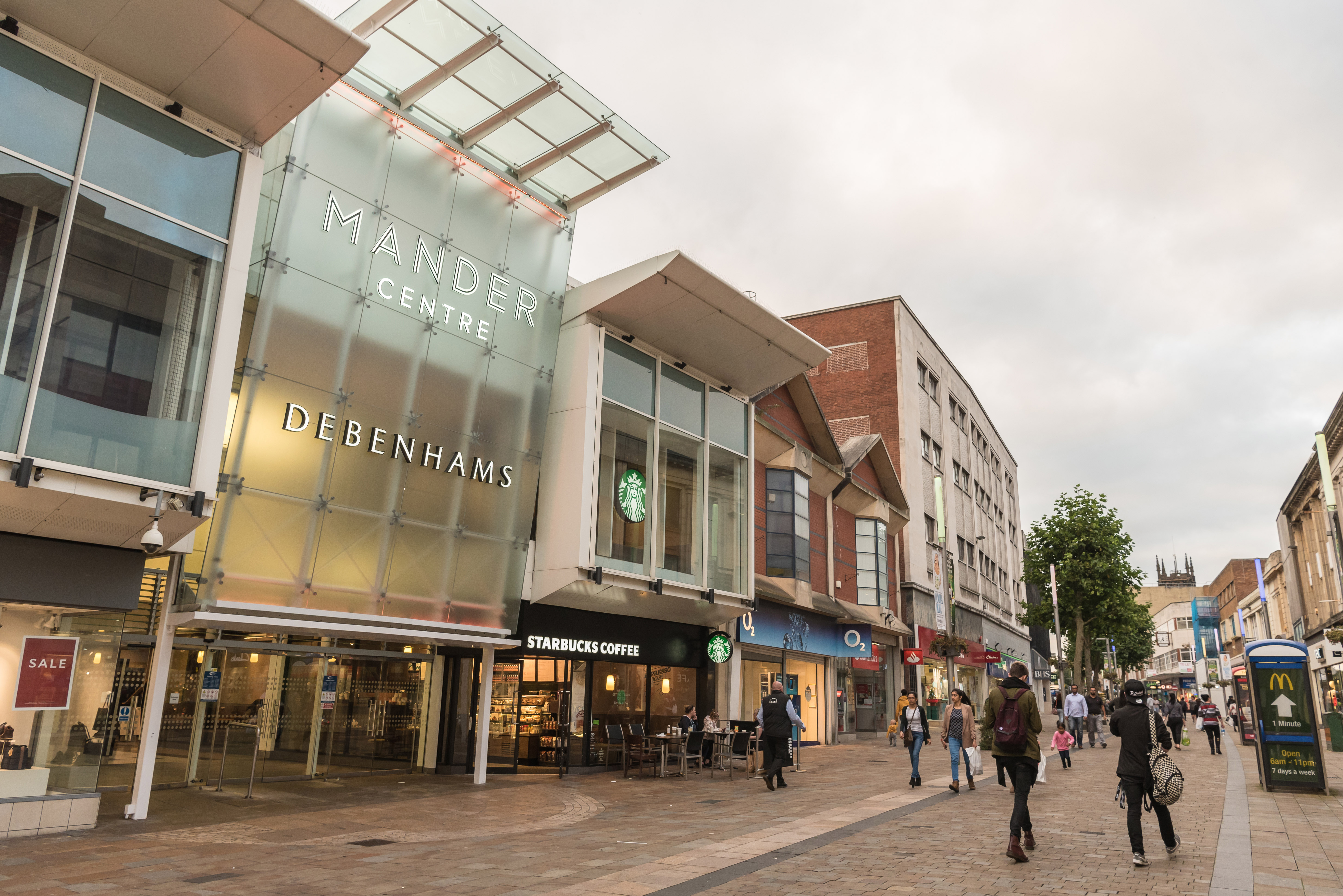 Mander Centre signs four major national brands, leasing over 100,000 sq ft