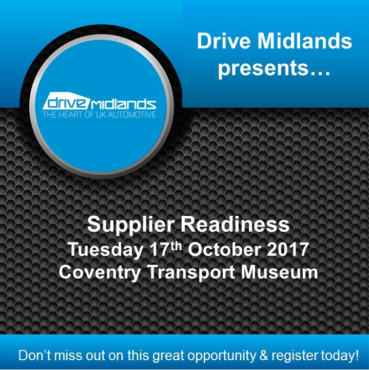 Drive Midlands Supplier Readiness Event