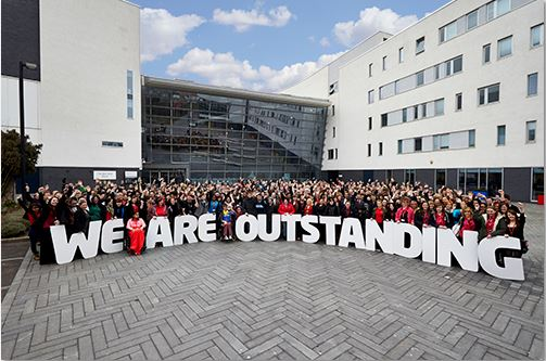 Walsall College Ranked as One of the Best in the Country