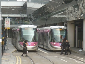 Midland Metro passenger numbers set to top seven million on back of city centre tram extension