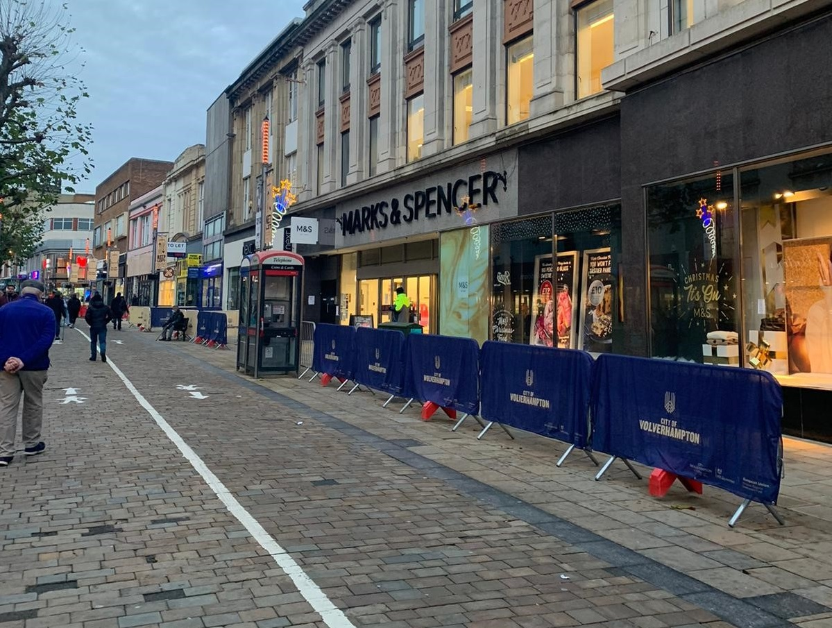 Support in place across city as non-essential shops reopen