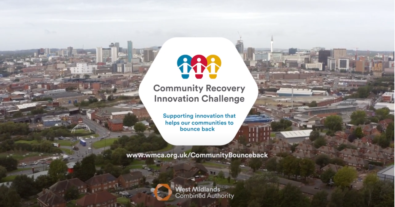 Up to £15k offered for innovative ideas to help boost West Midlands communities