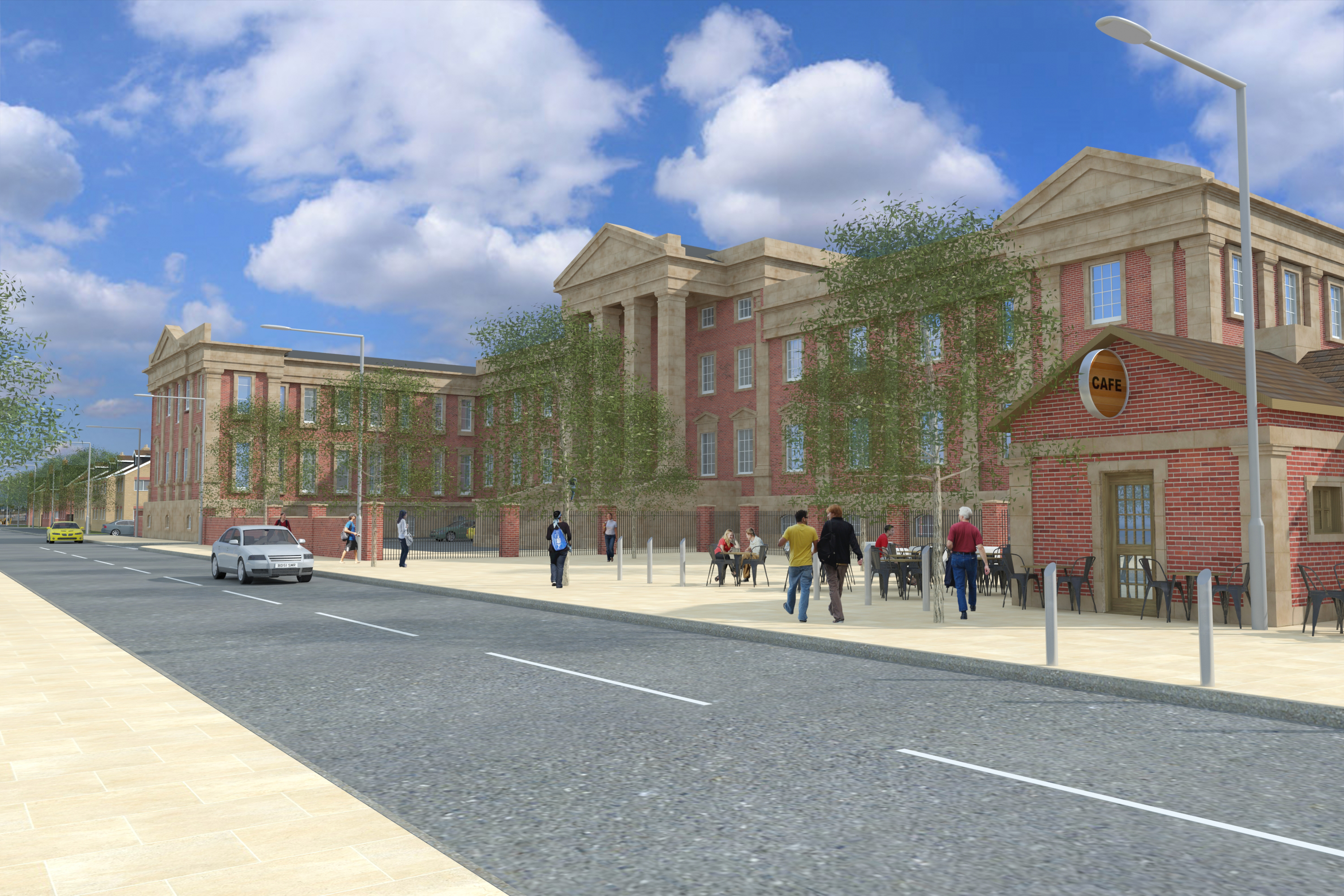Next step towards new homes at former Wolverhampton Royal Hospital site