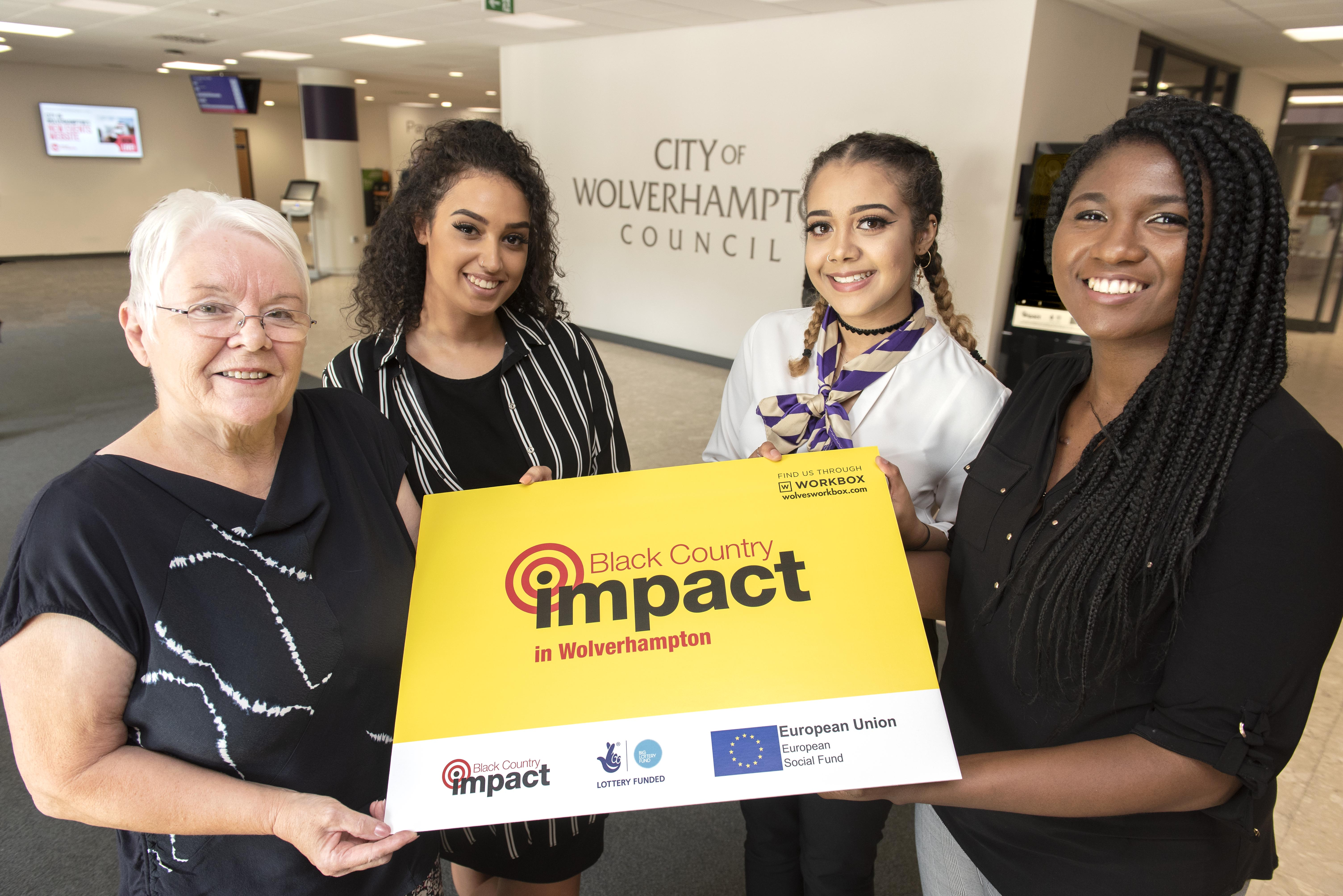 Trio land council jobs through Impact employability programme
