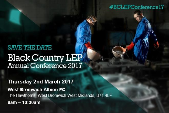 Save the date – Black Country LEP 2017 Annual Conference