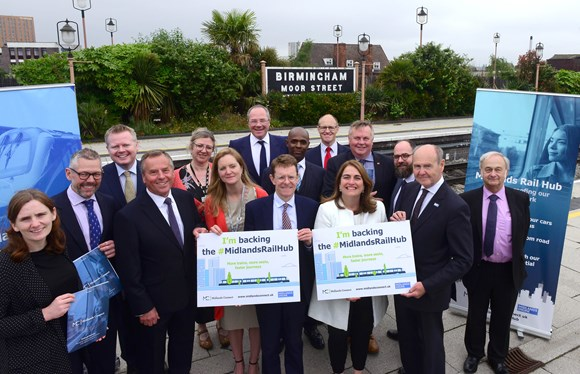 "£20 million in Budget for Midlands Rail Hub: ""Now let's get on with making it happen!"""