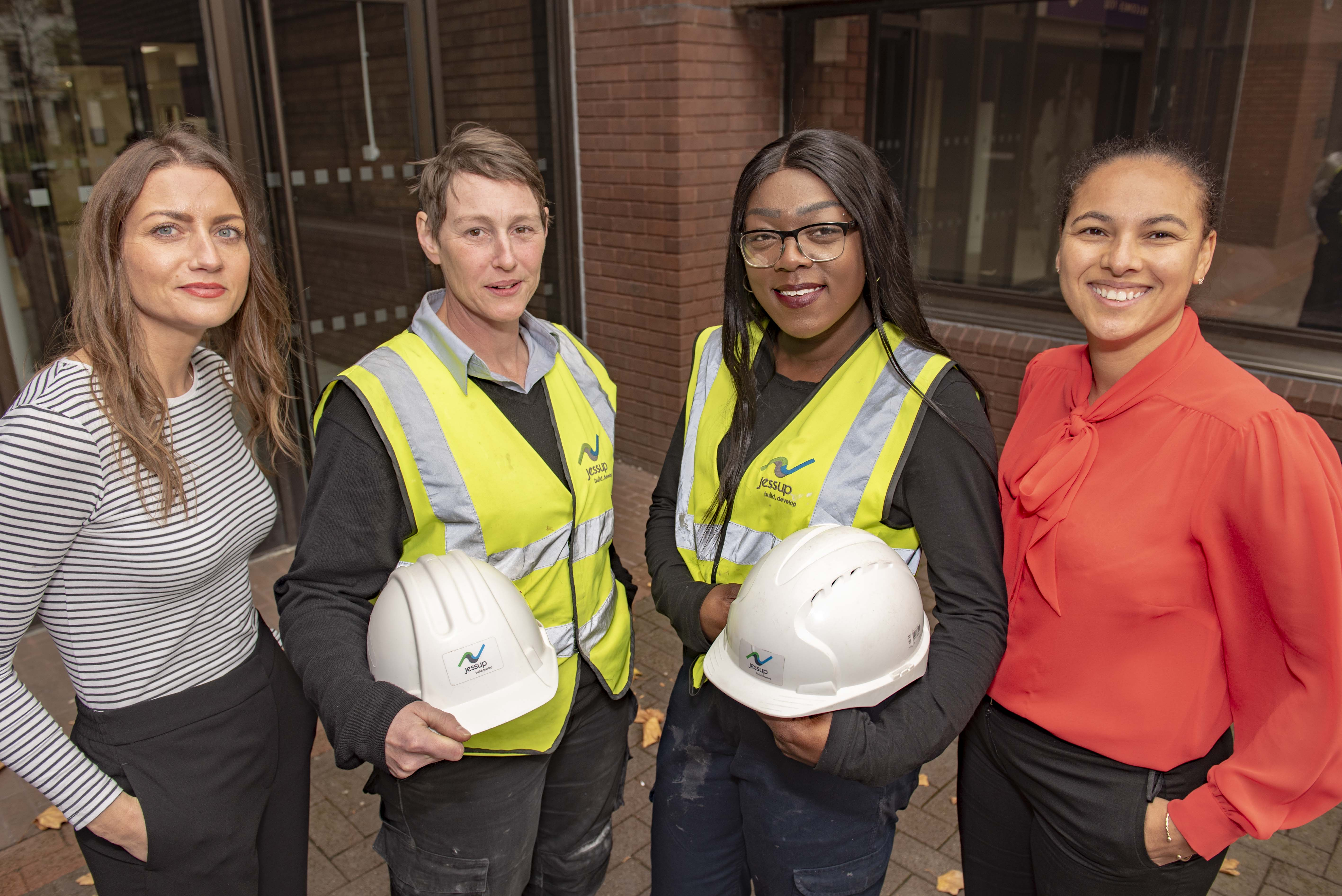 Wolves at Work buck trend for women in construction