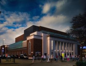 First glimpse of what refurbished Civic Halls will look like