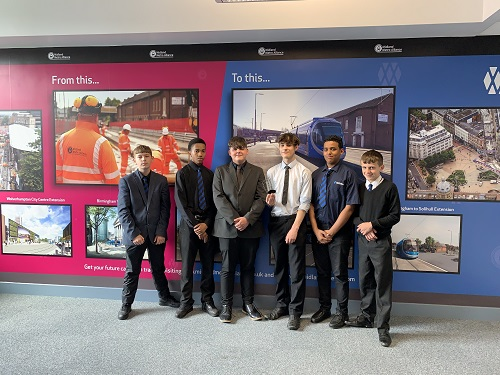 Students get future careers on track with design of their own Wolverhampton Metro extension