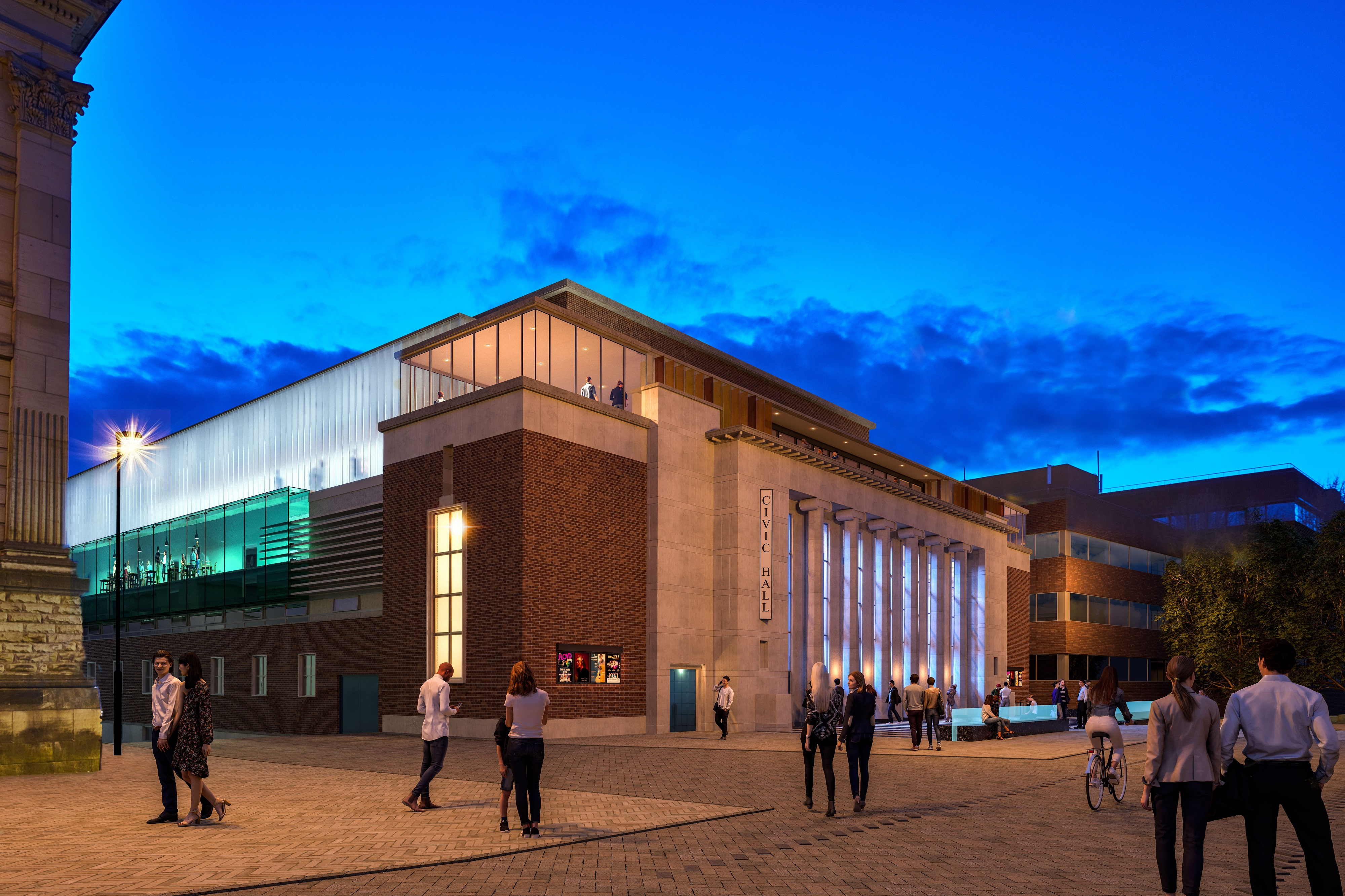 Preferred partner to deliver Civic Halls works announced