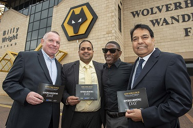 New city businesses Aim for Gold at Molineux launch