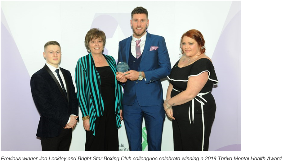 Last call to nominate unsung heroes for a Thrive Mental Health Star Award
