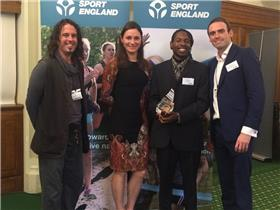 Active Black Country project wins gold at national Sportivate awards