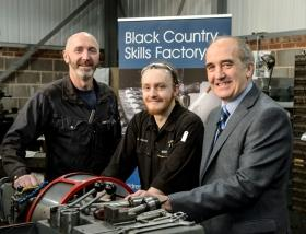 Black Country Skills Factory supports 100th Apprentice