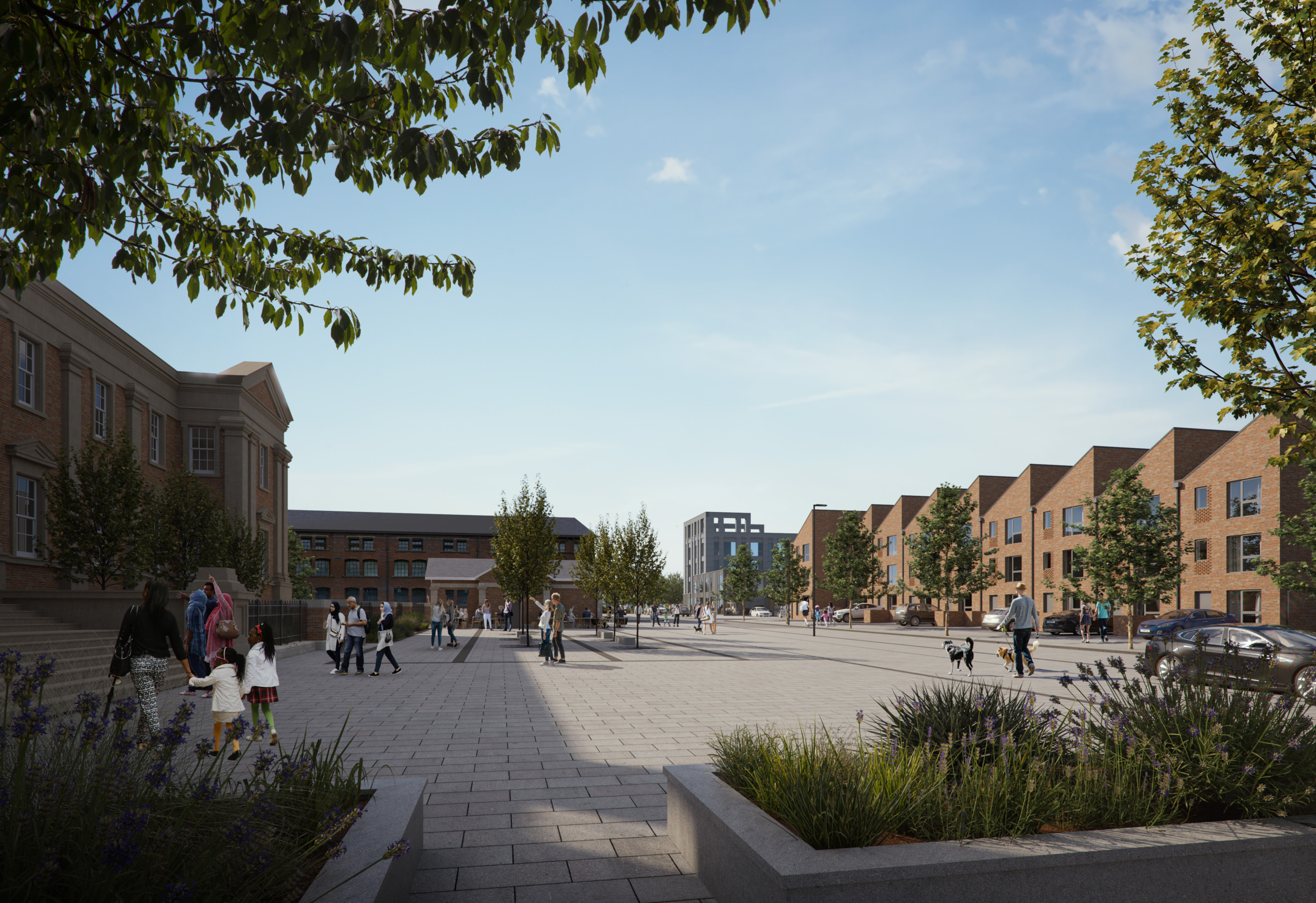 Major plans approved for former bus depot site