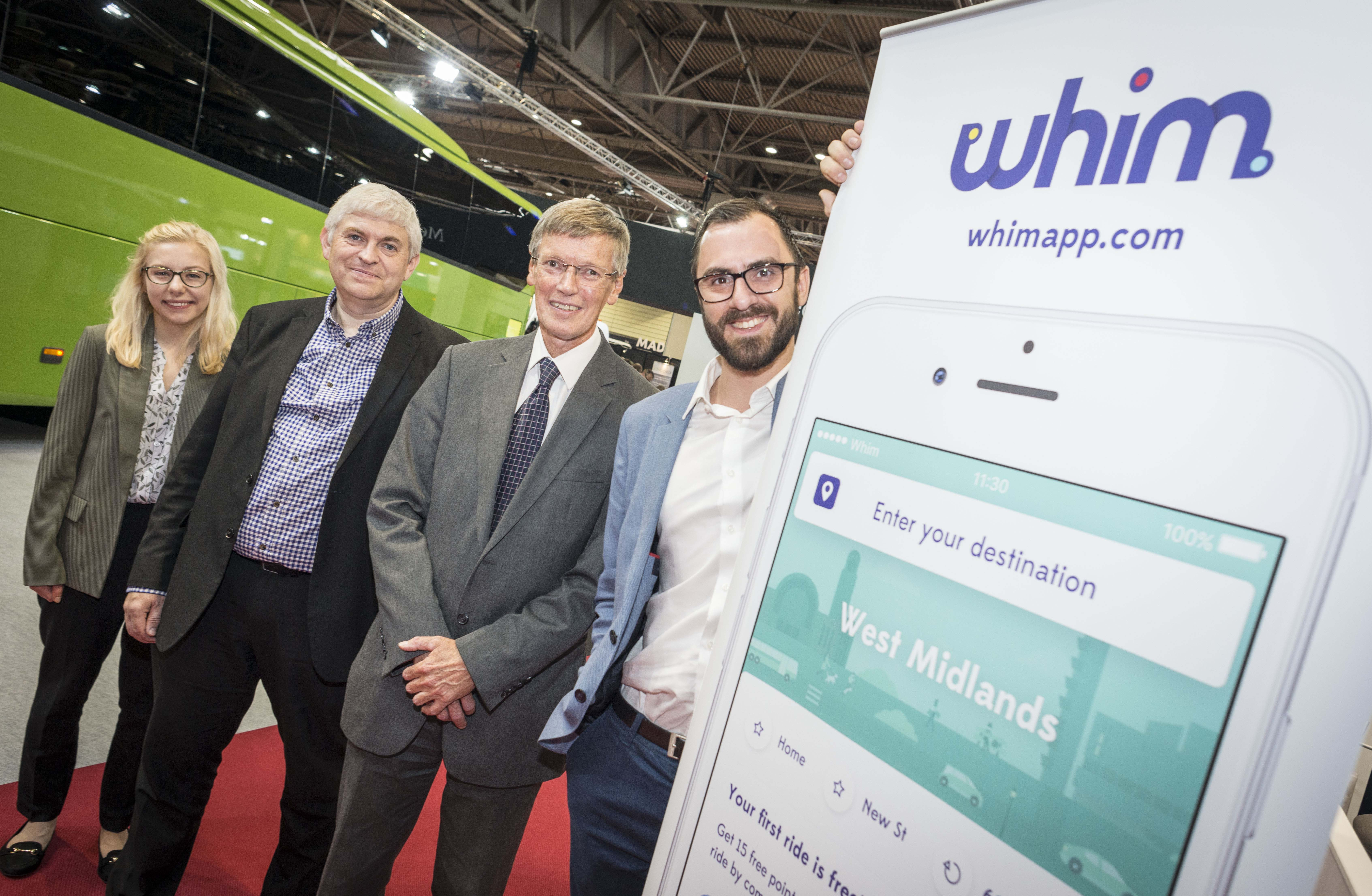 All aboard – call for volunteers as Whim app begins UK trials