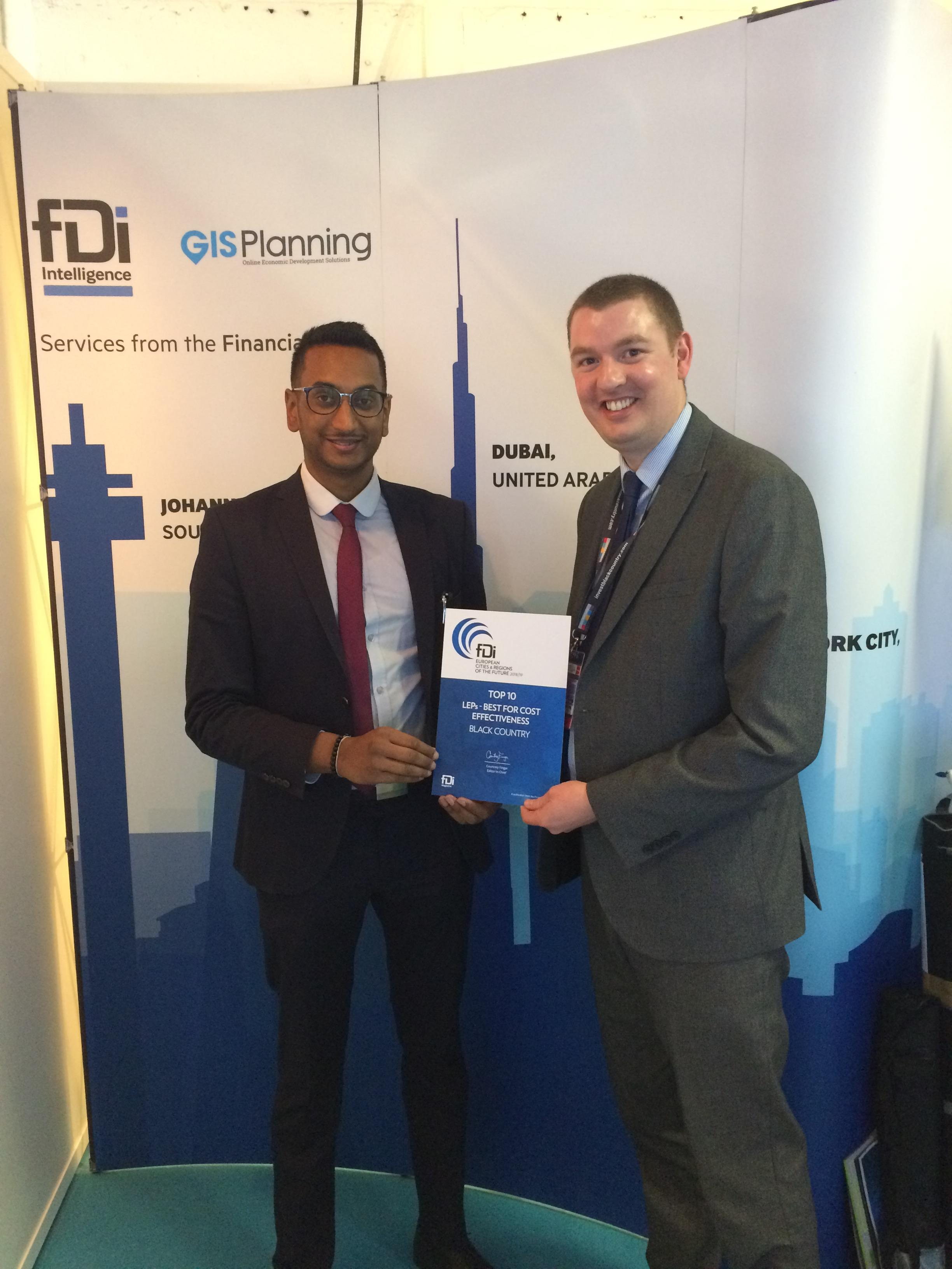 The Black Country recognised once again as cost effective location for business