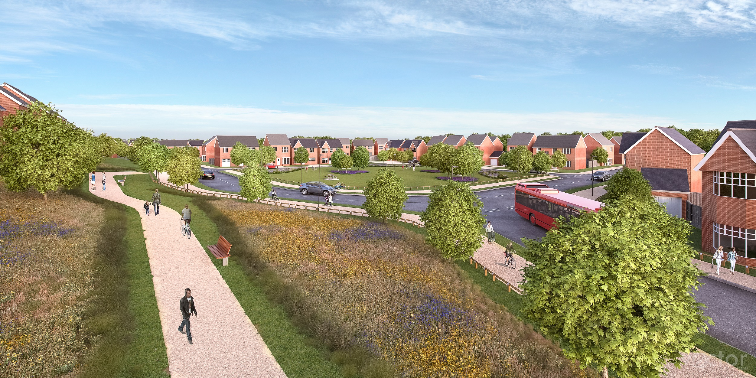 Work begins on one of the largest housing developments in the West Midlands