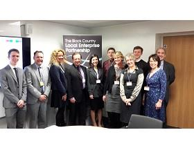 Careers Enterprise Company Chief Exec visit heralds the start of the Enterprise Adviser programme in the Black Country