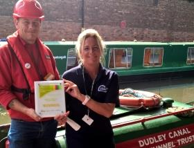 Dudley canal trust win living waterways award