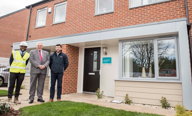 First homes selling fast at Bilston Urban Village