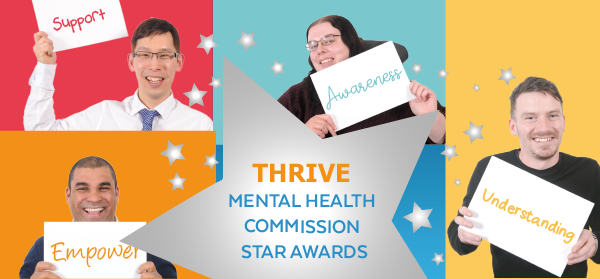 Thrive Mental Health Commission Awards
