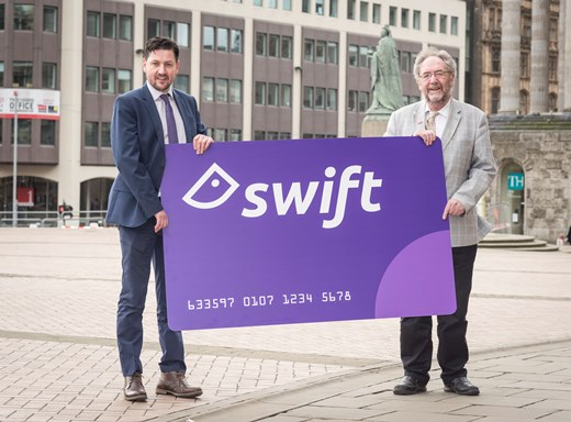 Transport for West Midlands rolls out new-look Swift smartcard to thousands of rail passengers