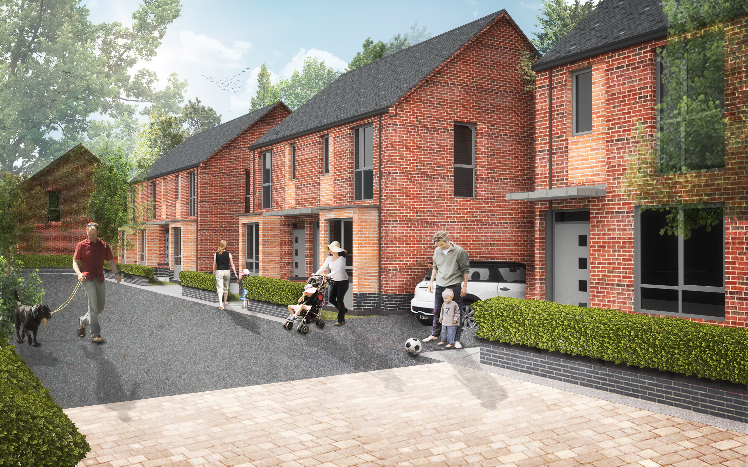 Galliford Try take on two major city housing schemes