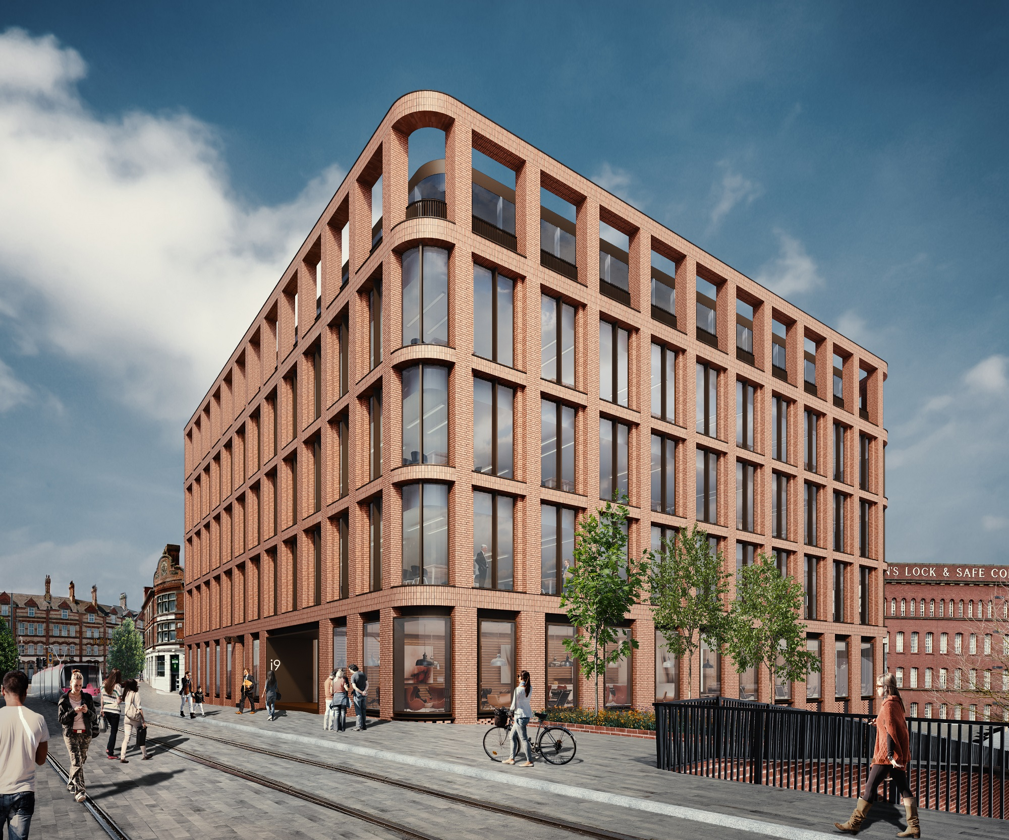 Planning approved for i9 city centre office development