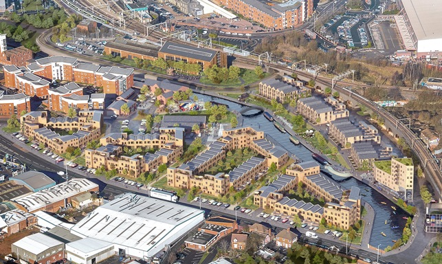 City centre Canalside living vision goes on show at MIPIM