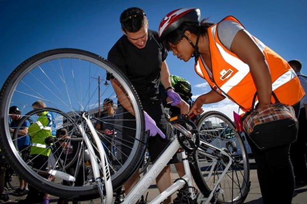 Get free cycle safety checks at railway stations this summer