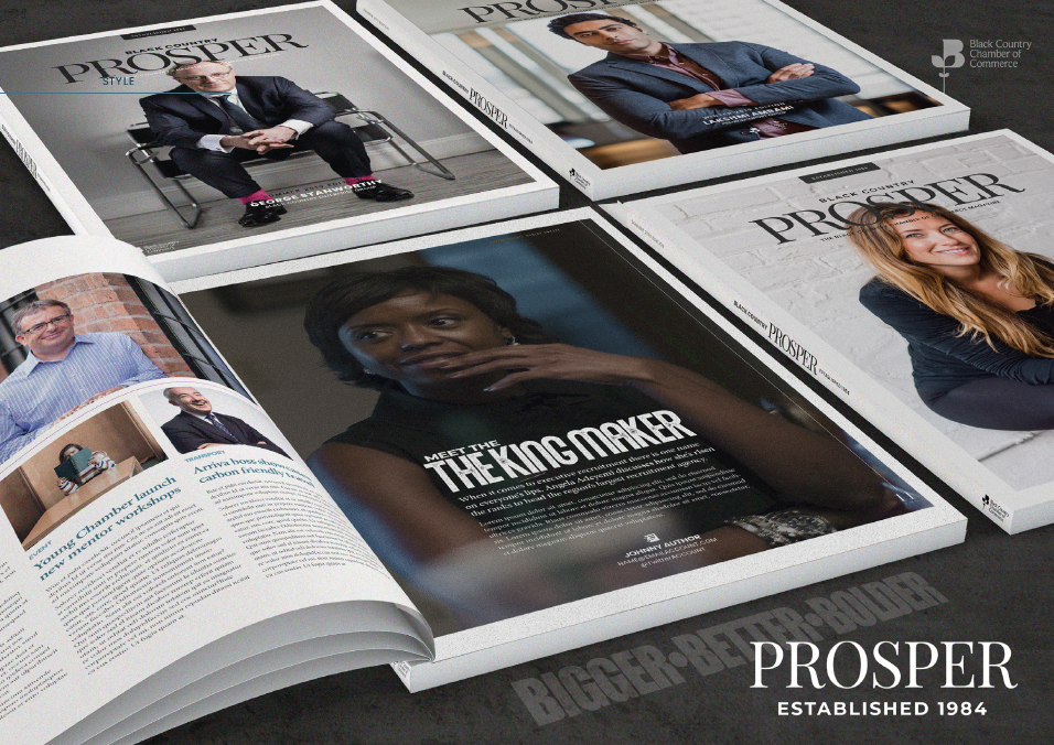 Chamber to Relaunch Prosper Magazine