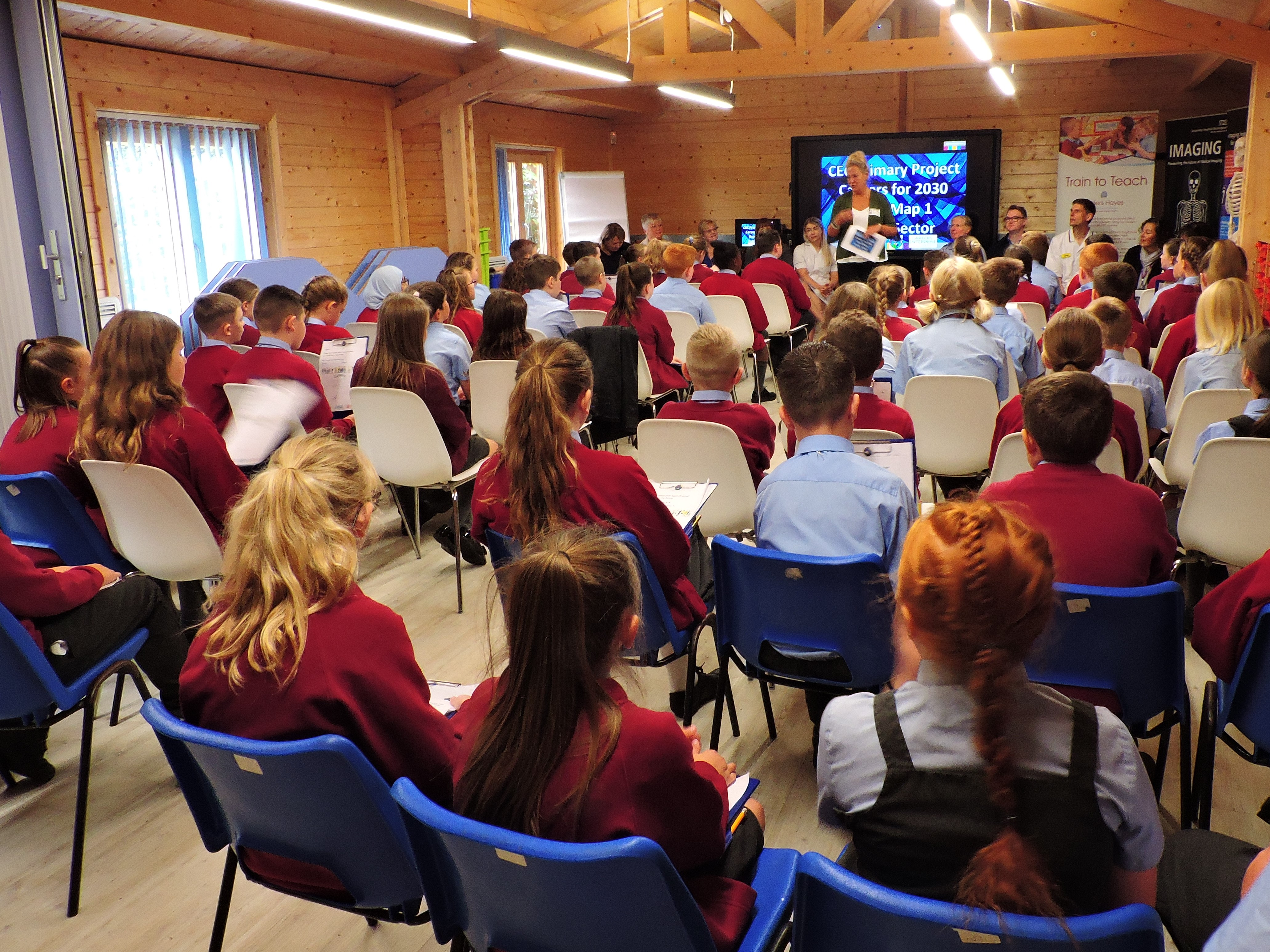 Primary pupils plan for careers in 2030