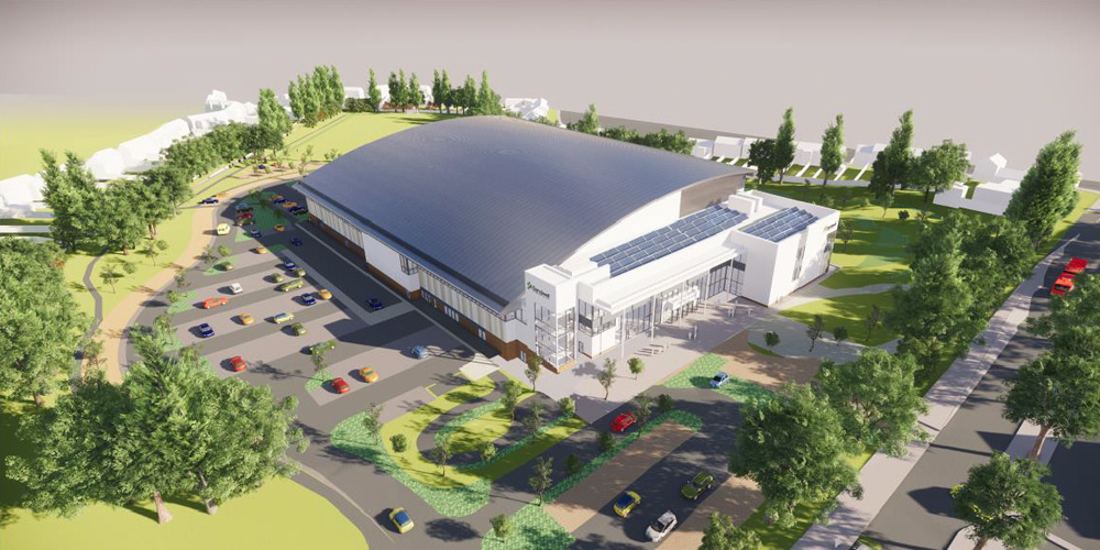 Major milestone reached on the Sandwell Aquatics Centre site