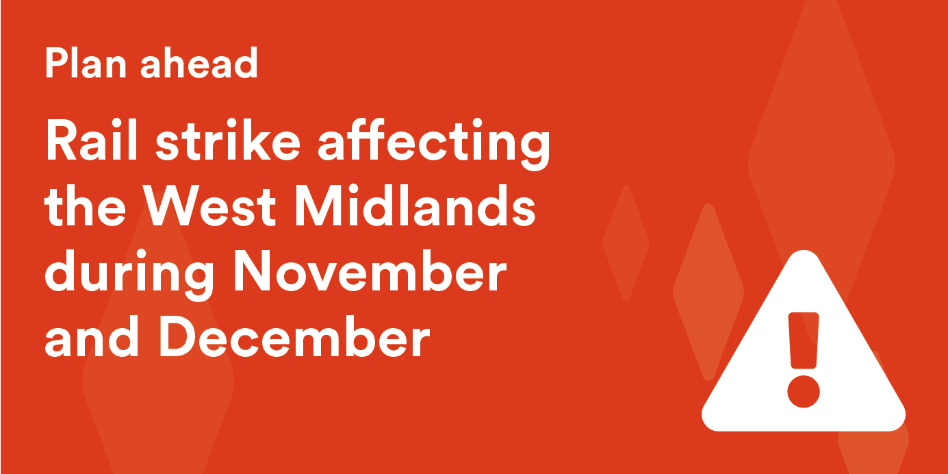 Strike action is due take place on West Midlands Railway