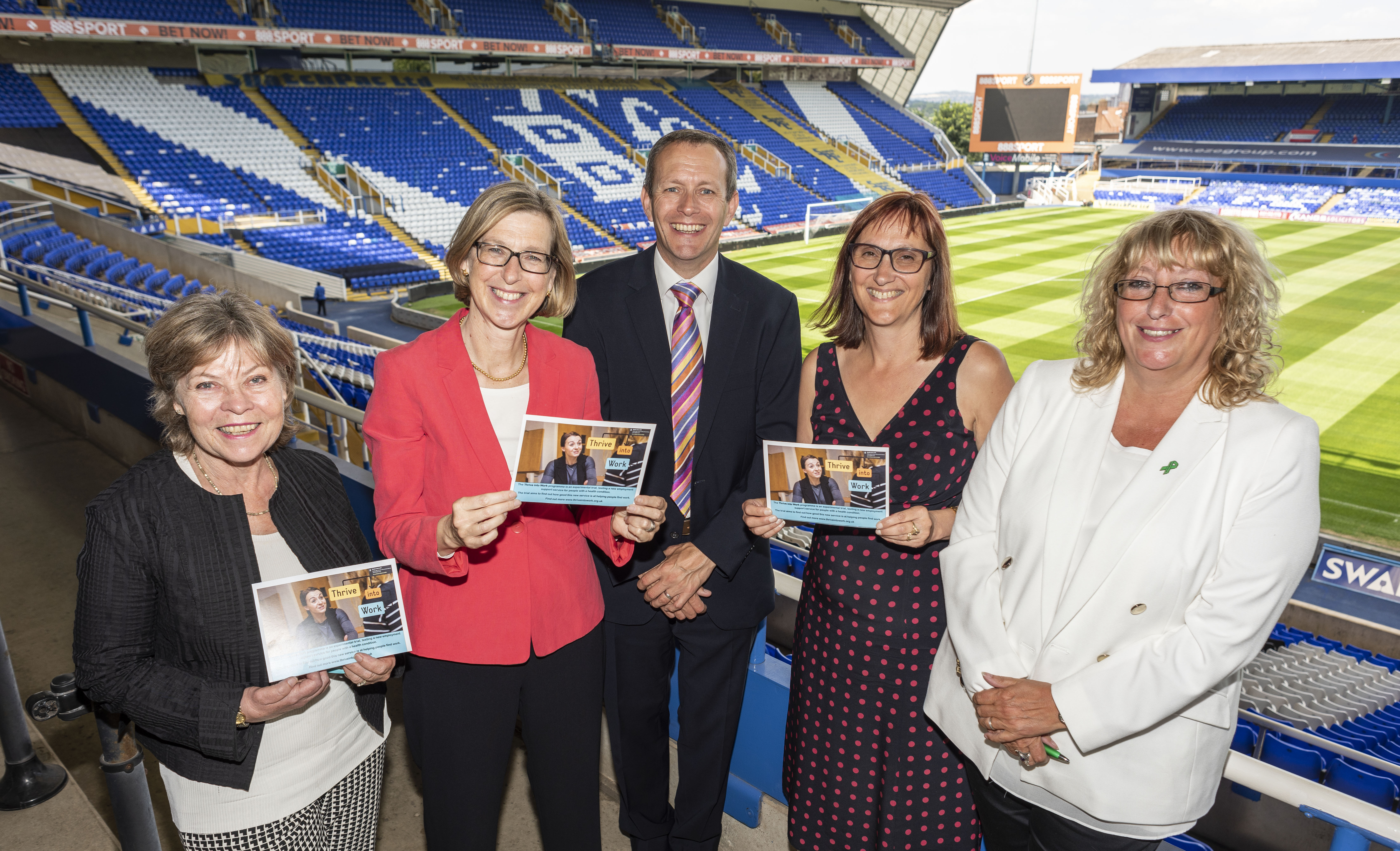 £8.4m funding to launch Thrive Into Work in the West Midlands