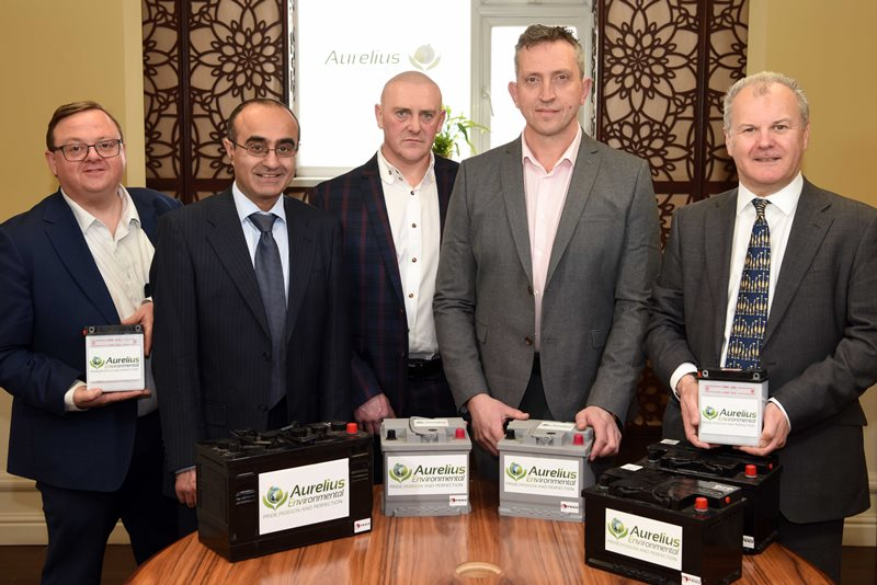 Battery recycling specialist charged up with £1.5m package