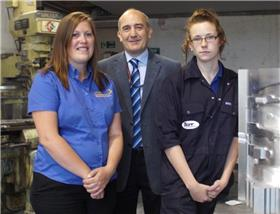 Skills Factory subsidy kick starts career for female apprentice