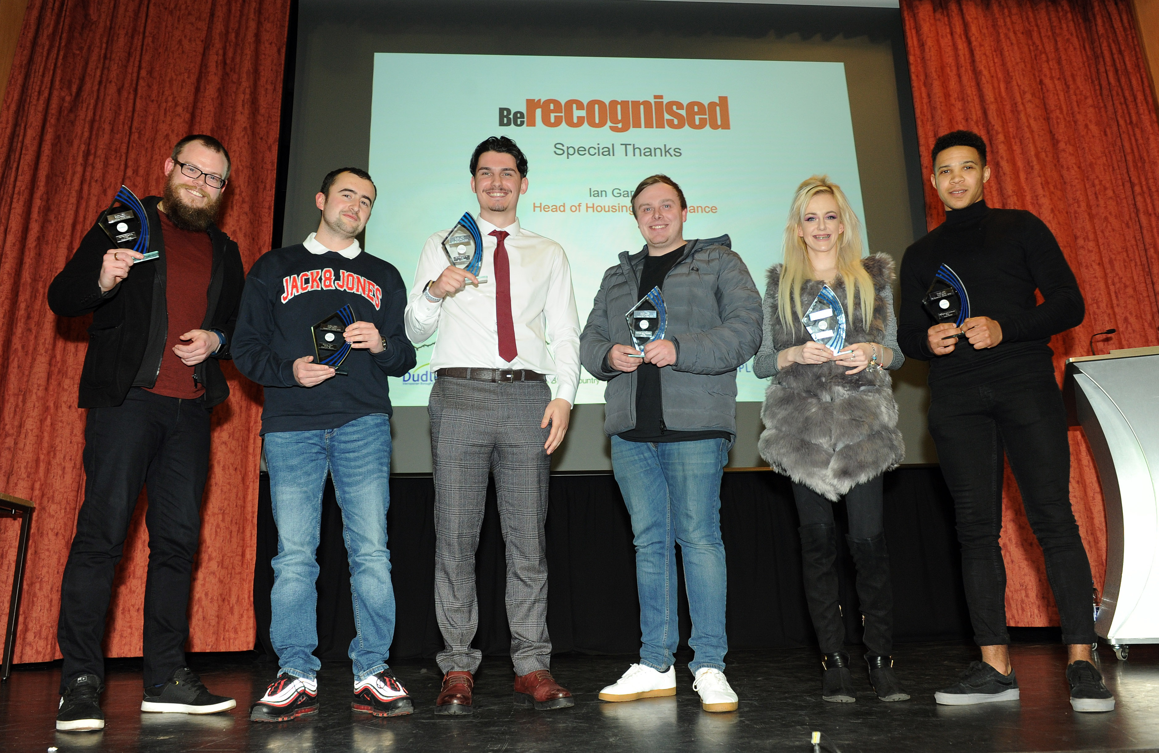 Young people recognised at awards ceremony