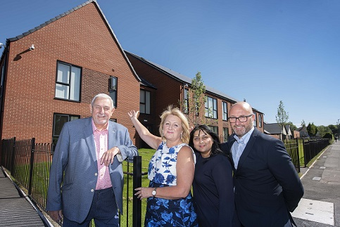 First tenants move into new supported housing scheme