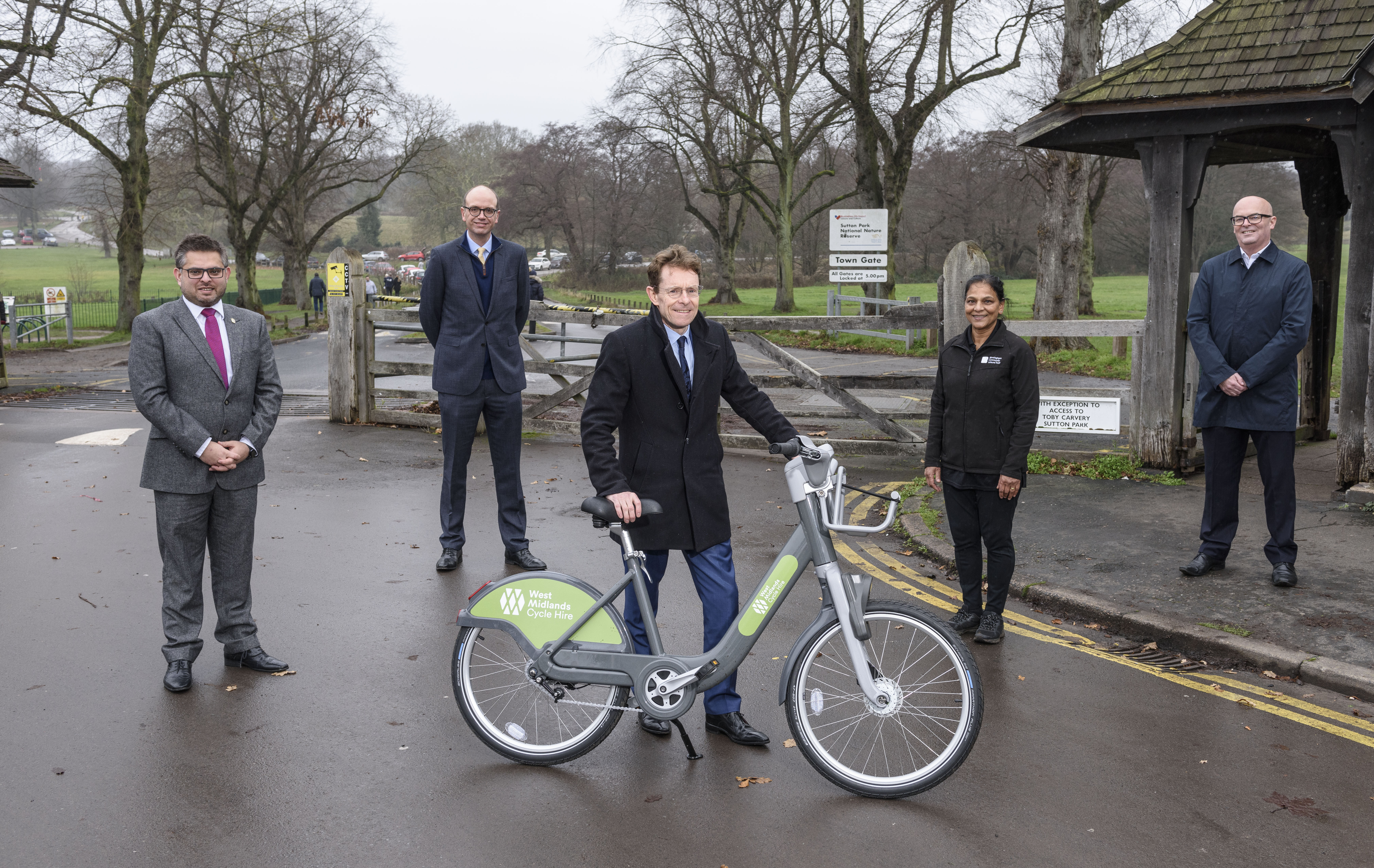 New West Midlands cycle hire scheme to start with pilot in Sutton Coldfield