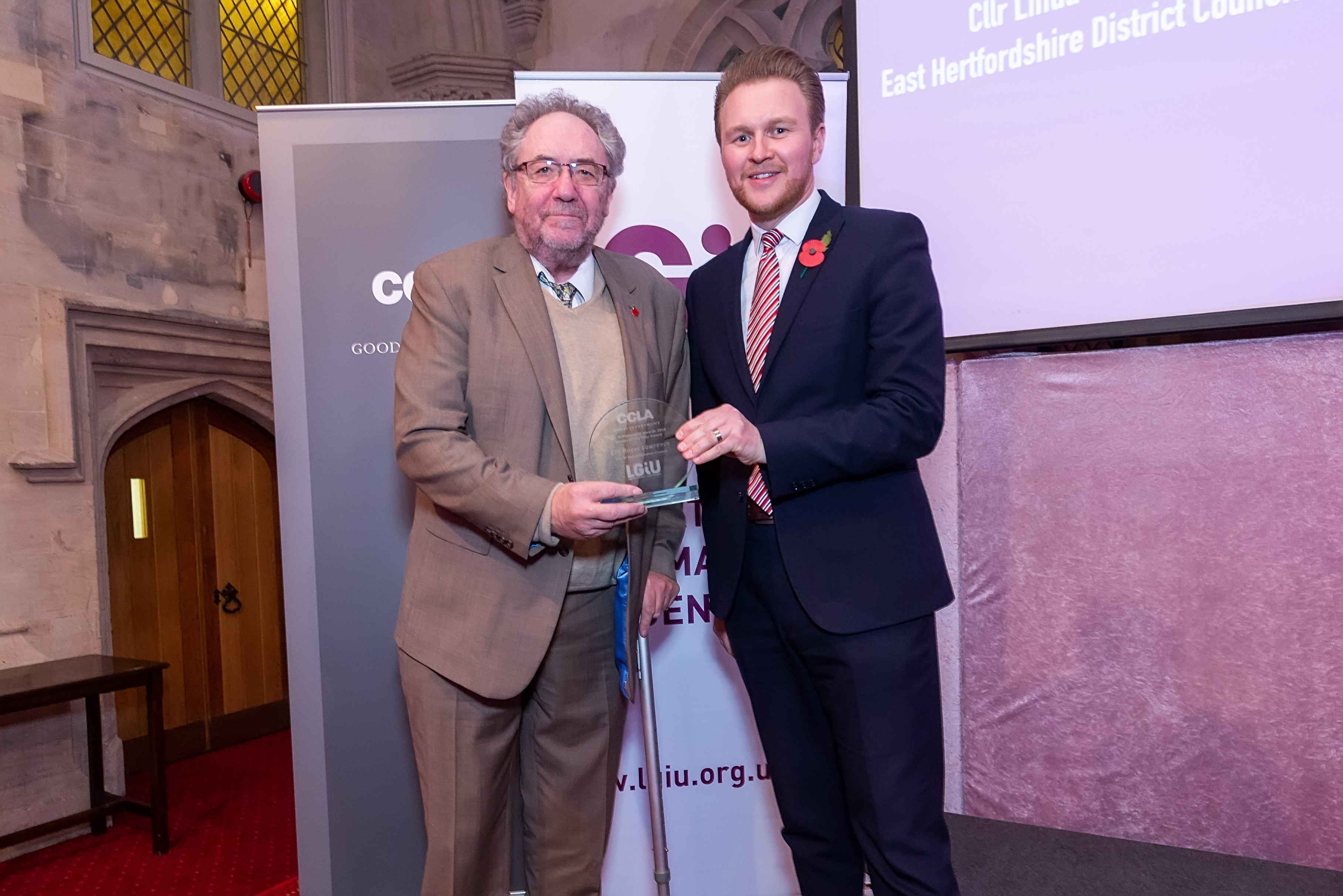 National Award for Cllr Roger Lawrence