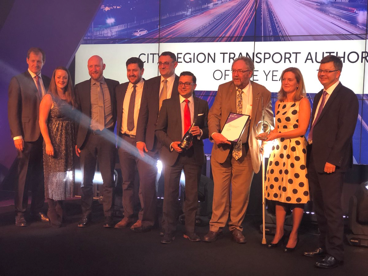 TfWM wins top award at transport 'Oscars' for second year running
