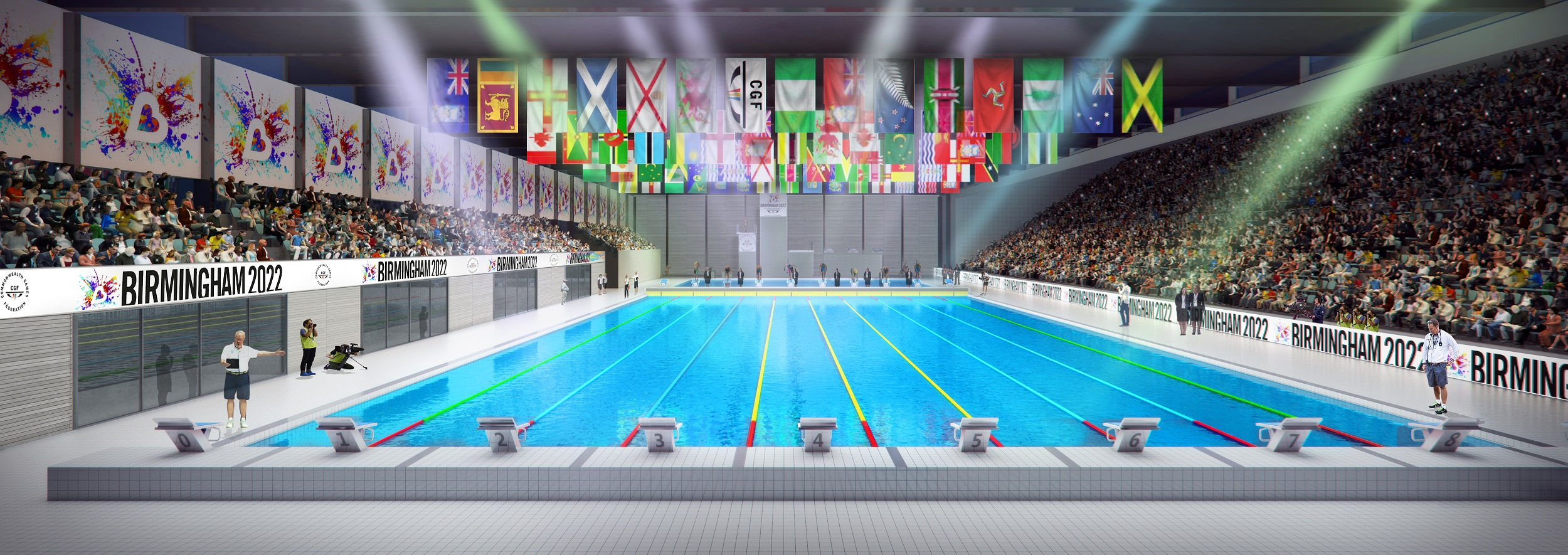 New Sandwell Aquatics Centre to become home of Swimming and Diving for 2022 Commonwealth Games bid