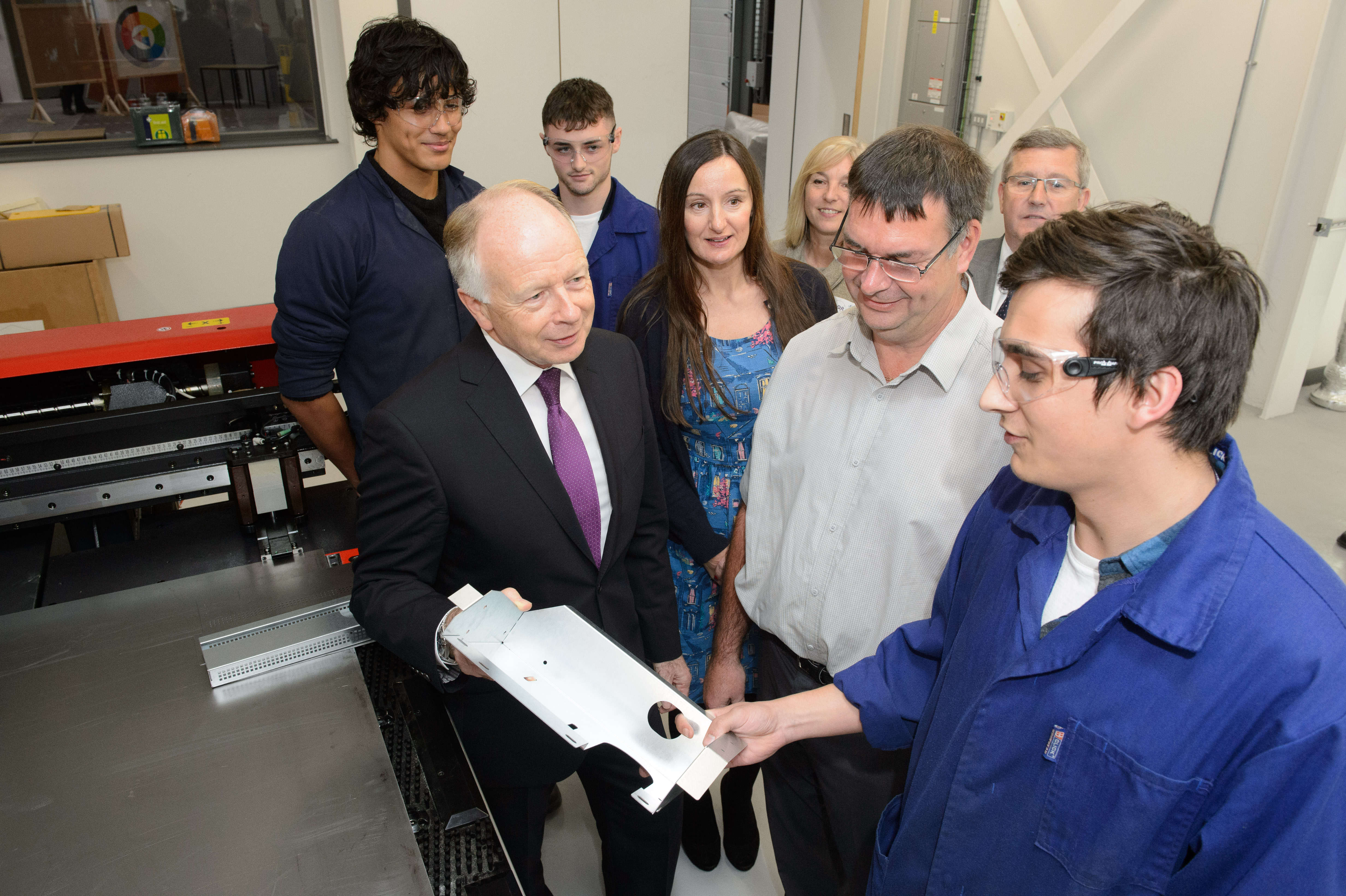 Manufacturing apprentices build skills for the future
