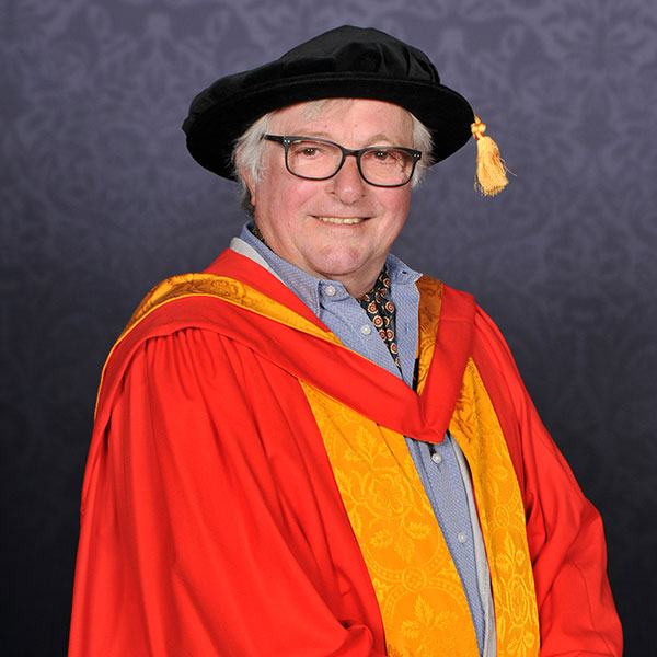 Airship and ballooning innovator flying high with honorary degree