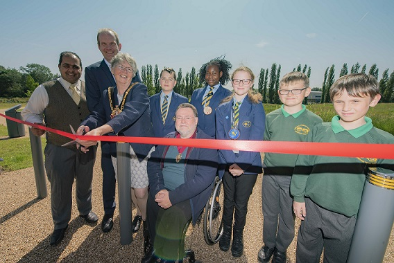 Bilston green space opens after major transformation
