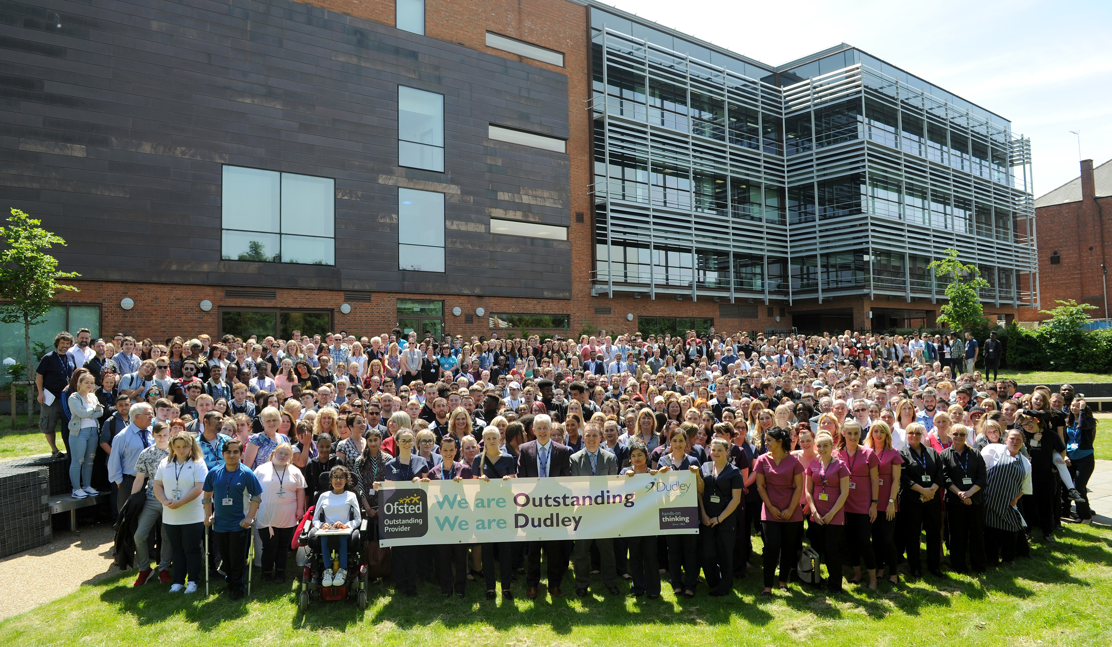 Dudley College Celebrates Outstanding Ofsted Grade