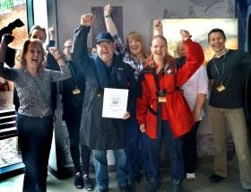 Dudley Canal Trust Celebrates Award for Excellence